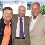 Brian Wallach, Dr. Kanti Rai, Chief, Hematology/Oncology, Long Island Jewish Medical Center, Steve Braun