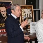 Thomas Gambino,Sr with Chef Mark Strausman of Fred's